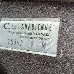 La Canadienne Shoes - La Canadienne Black Leather Knee High Boots